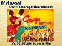 Congo Rythm mit N`sinsani@Smaragd