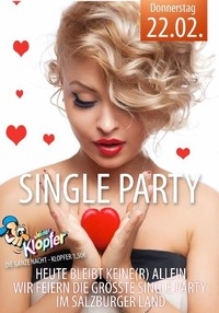 Single Events ab 20.06.2020 Party, Events, Veranstaltungen