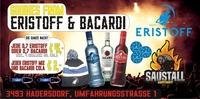 Eristoff & Bacardi Goodie Night@Saustall Hadersdorf