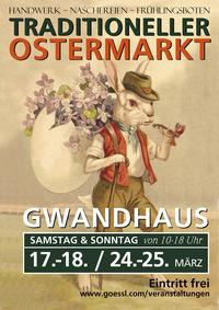 Traditioneller Ostermarkt im Gwandhaus@Gwandhaus für Österreich und Bayern
