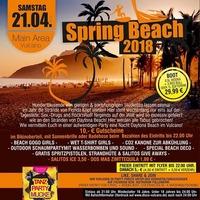 Spring BEACH 2018@Vulcano