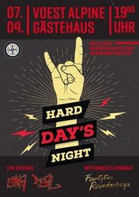 A HARD DAYS NIGHT@voestalpine Stahlwelt, Gästehaus
