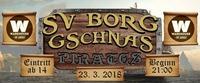 SV BORG Gschnas - Pirates 2018@Warehouse