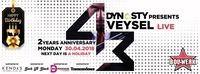 Veysel LIVE // 2nd Anniversary of Dynasty at Bollwerk@Bollwerk