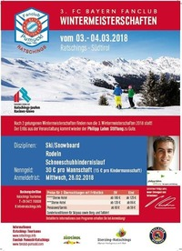 3. FC Bayern Fanclub Wintermeisterschaft mit Philipp Lahm@Ratschings Skigebiet