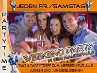 Jeden Samstag – Weekend Party@Mausefalle