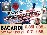 Bacardi – Winter Closing Party@Partymaus Wörgl