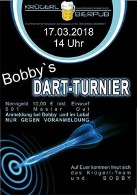 Bobbys Darttunier@Bierpub Krügerl