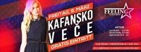 ★Kafansko Veče★ 09/03/18 ★Gratis Eintritt★@Feeling