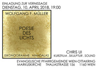 """Wolfgang F. MÜLLER """"Poesie des Lichts""""@Evangelische Pfarrgemeinde Wien-Ottakring MARKUSKIRCHE"""