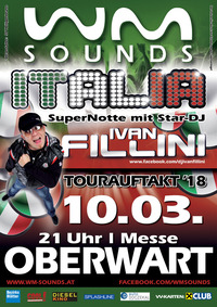 WM-SOUNDS Tourauftakt 2018 mit Star-DJ Ivan Fillini