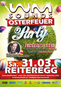 Reiteregger Osterfeuer mit WM-SOUNDS Osterfeuer-Party@Reiteregg