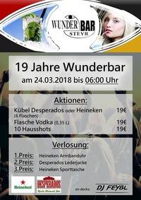 19 Jahre Wunderbar@Wunderbar Steyr