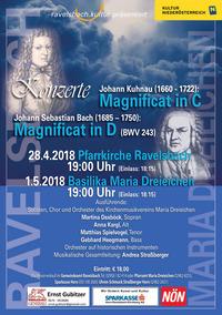 Magnificat in C und D@Prandtauerkirche Ravelsbach