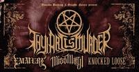 Thy Art Is Murder • Death Dealers Tour 2018 • Rockhouse Salzburg@Rockhouse