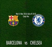 Barcelona vs Chelsea@Chelsea Musicplace
