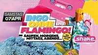 Ingo ohne Flamingo live im shake@Shake