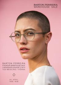 Lagerabverkauf / Sonnenbrillen / Optische Brillen@Barton Perreira