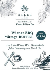 Wiener BBQ Mittags-BUFFET