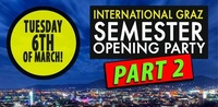 GRAZ International Students Semester Opening Party - Part 2