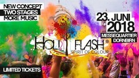"HOLI Flash - Spirit of Colour - ""NEW"" 2 STAGES@Messe Dornbirn"