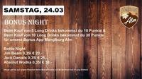 Bonus Night@Manglburg Alm
