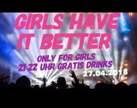 GIRLS HAVE IT BETTER@Infinity Club Bar