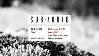 Sub Audio pres.: Background / Leap / High Noon Rockers@Fluc / Fluc Wanne