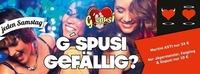 Wenn`s richtig lustig werden soll, ab ins G`spusi! ;-D@G'spusi - dein Tanz & Flirtlokal
