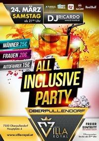 All INCLUSIVE PARTY@Villa Royal