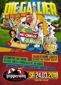 Die Gallier - Vollgas Party // Club Tour 2018 x_Giggeralm Reisch@Giggeralm