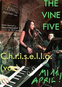 Chrisella mit ihrer Band The Vine Five@Smaragd