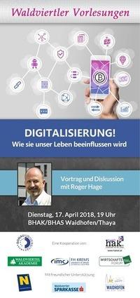 Digitalisierung! Wie sie unser Leben beeinflussen wird