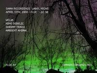 Sama Recordings LABEL NIGHT w/ Nino Sebelic@Fluc / Fluc Wanne