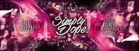 SIMPLY DOPE / PIZZA N' HIP HOP / 30.03. / CITY CLUB VIENNA@Club Nautica