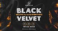 Black Velvet x Dress BLACK x 21/04/18