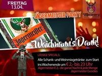 Jägermeister Party@Maurer´s