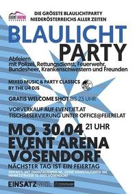 Blaulichtparty - Wien und Niederösterreich machen BLAU!@Event Arena