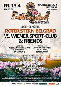 Roter Stern Belgrad vs. Wiener Sport-Club & Friends (Legendenspiel & Frühlingsfest)@Sport-Club-Platz