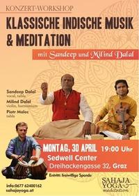 Klassische Indische Musik und Meditation@Seddwell Center Graz