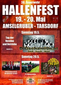 38. Tarsdorfer Hallenfest Sonntag Abend@Hallenfestgelände der FF Tarsdorf, Firma Amselgruber Landtechnik