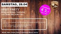Sprit Party!@Manglburg Alm