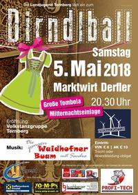 Dirndlball 2018@Marktwirt Derfler