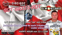 ROT-weiss-ROT@Discothek Concorde