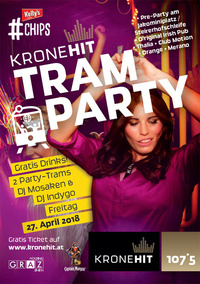 Die KRONEHIT Tram Party - Afterparty@Thalia