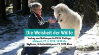 Die Weisheit der Wölfe - Elli H. Radinger@SkyDome - Seminar- und Tagungszentrum des Wiener Hilfswerks