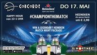 Heineken MATCH NIGHT@Discothek Concorde
