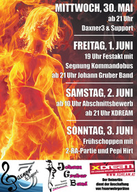 Fire - NIGHT WEEKEND@Sportplatz Gampern