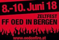 Zeltfest Oedonfire 2018@Oed on Fire