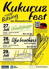 Kukuruzfest Ritzing@Festwiese Ritzing bei Waizenkirchen